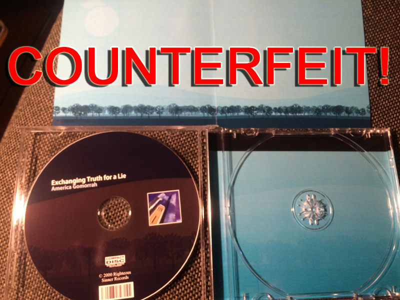 Amzon.Com Counterfeit CDs